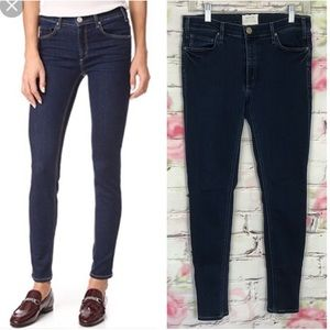 McGuire denim dark wash skinny jeans